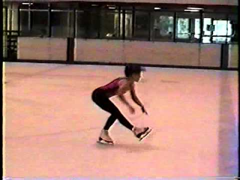 Rebecca Gilbert ice skating - I can skate again! :) A vegan diet healed my chronic joint pain!