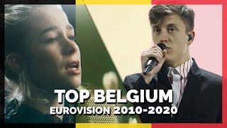 Eurovision BELGIUM (2010-2020)   My Top 11