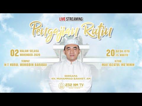 Download Guru M Bakhiet - 2020-11-02 Malam Selasa - Kitab Mau'izhatul Mu'minin MP3 & MP4