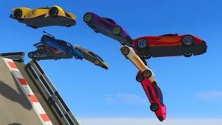 CAIDA LIBRE!!!! - CARRERA GTA V ONLINE - GTA 5 ONLINE