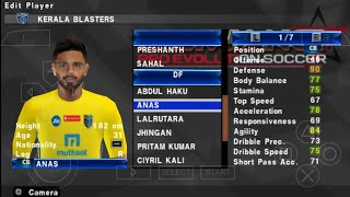 Indian super league Android PSP game Kerala blasters intro