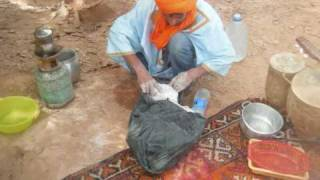 Baking  Bread In The Sahara Desert Merzouga Morocco