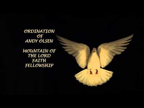 Ordination of Andy Olsen