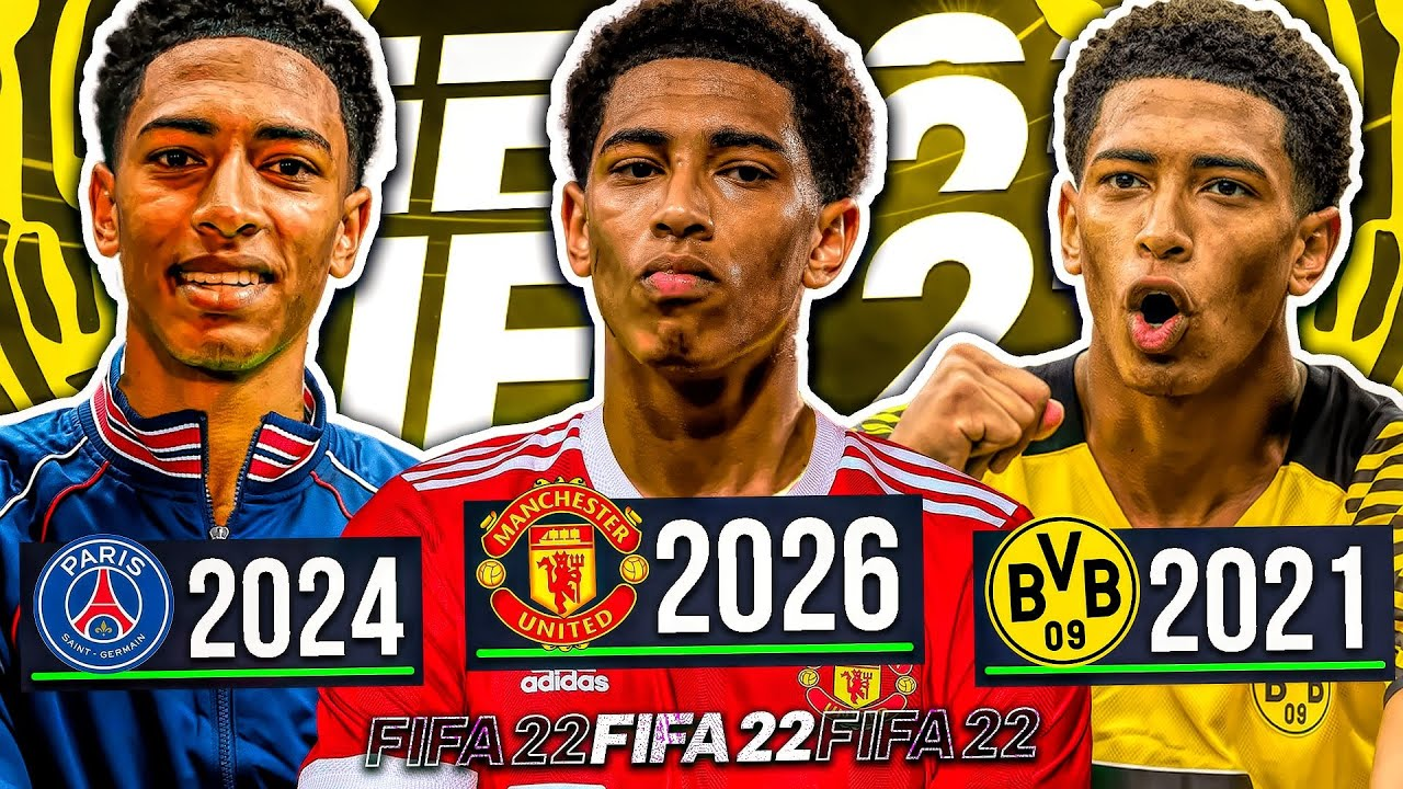Download I Played the Career of JUDE BELLINGHAM... FIFA 22 Player Rewind