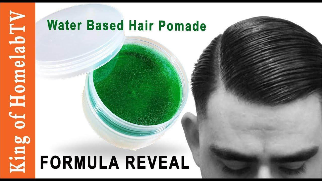 AMAZING DIY: Water Based Hair Pomade