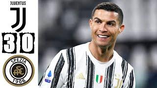 Ювентус Специя 3 0 Обзор Матча Чемпионата Италии 02 03 2021 HD