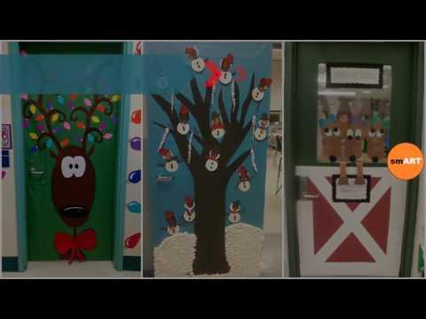 Christmas Door Decorations - Beautiful Christmas Door ...