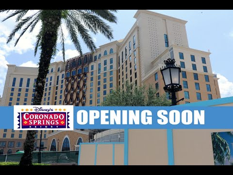 Disney's Coronado Springs Resort Construction Update and Tour May 2019 - Live Video 1080P