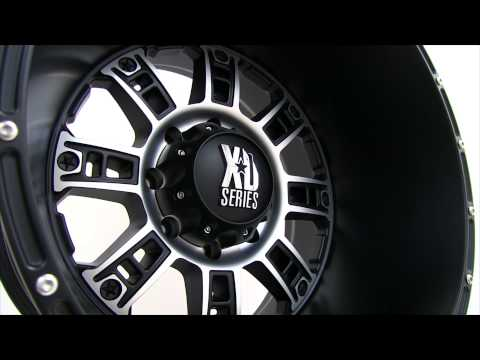 XD Series XD809 Matte Black and Milled Wheels Rims 20x14
