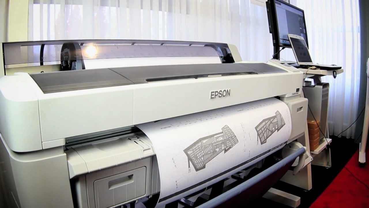 Epson SC T7000 Plotter