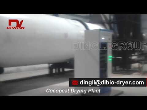 Hot Sale Coconut Coir Coconut Chaff Rotary Drum Dryer