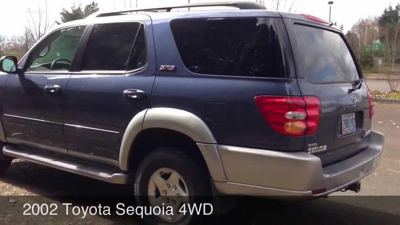 2002 Toyota Sequoia Youtube