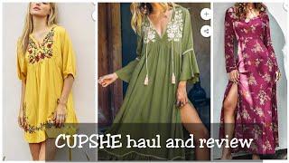 Honest cupshe bikini/ beach dresses Haul/Review