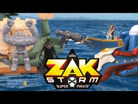 Zak Storm Marituga Playset, Skullivar & Chaos Deluxe Vehicle from Bandai