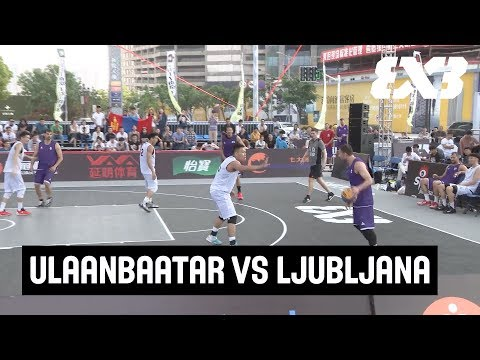 Mongolian team shocks World Tour reigning champs  - Full Game - Nanjing Challenger 2017 - FIBA 3x3