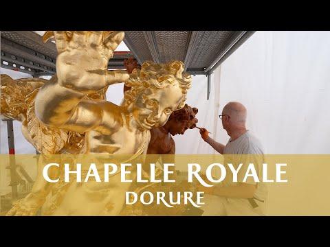 Dorure de la Chapelle Royale de Versailles // Gilding of the Royal Chapel of Versailles