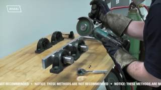 Time Saving Mounted Ball Bearing Removal Solution from Sealmaster