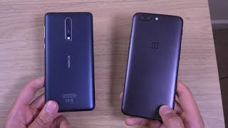 Nokia 8 vs OnePlus 5 - Best Budget Flagship?