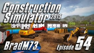 Construction Simulator 2015 GOLD EDITION - Episode 54 - Bridge Job Part 2