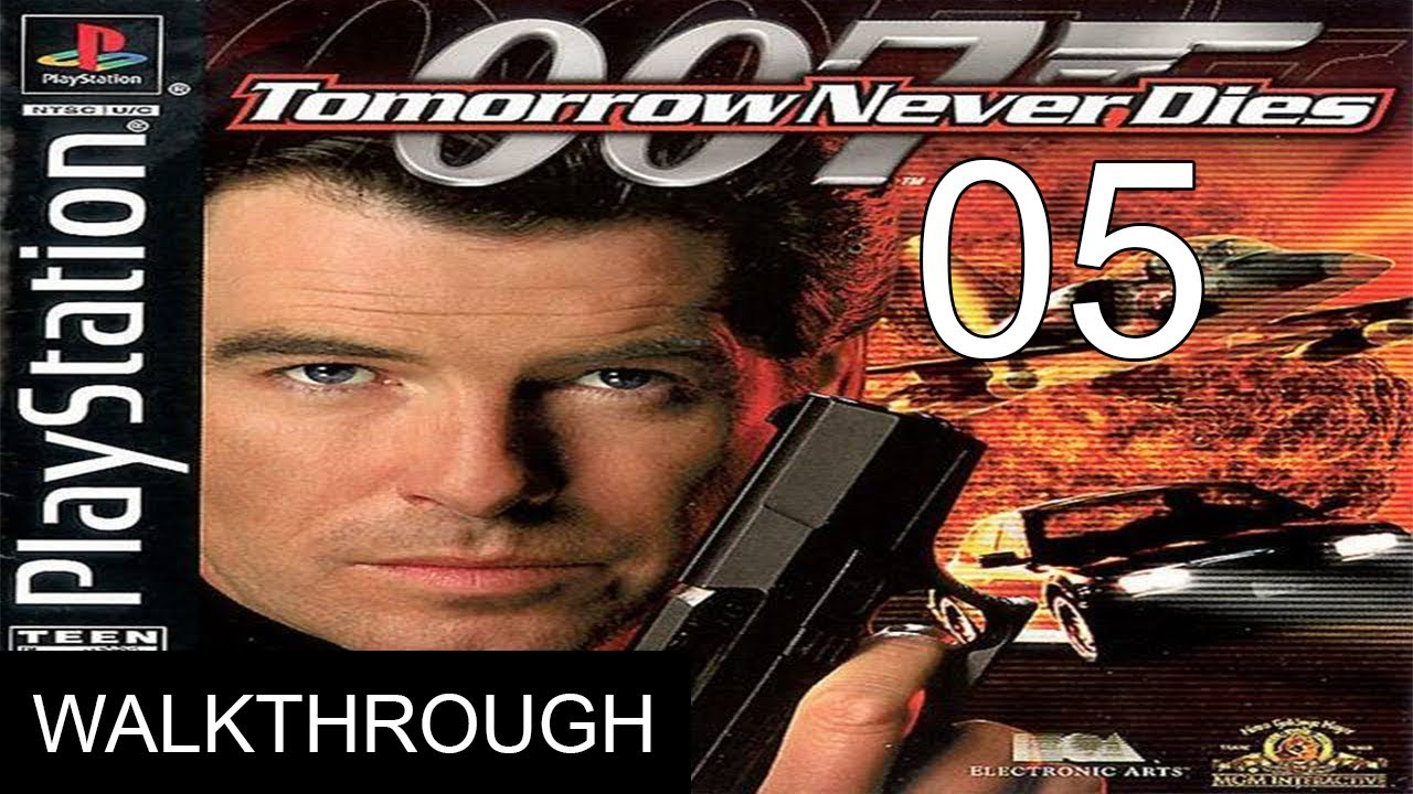 007 Tomorrow Never Dies Gameplay Walkthrough Mission 5 Ps1 1080p