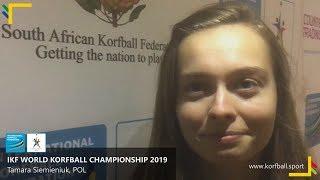 Interview: Tamara Siemieniuk, POL #WKC2019