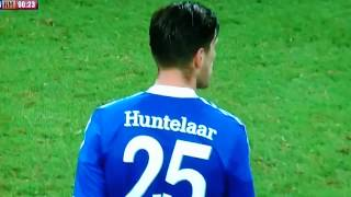 Klaas-Jan Huntelaar Amazing goal - FC Schalke vs Real Madrid