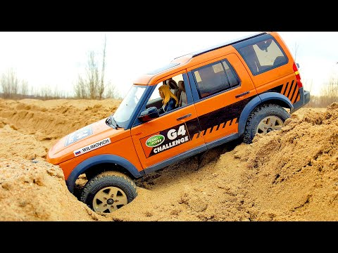 RC Cars OFF Road Sands Storm and Water SPA — Land Rover Disc