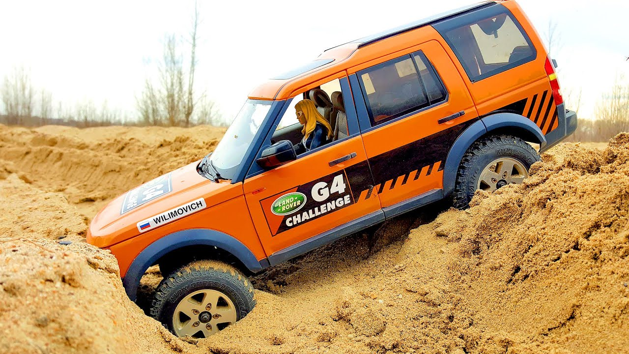 RC Cars OFF Road Sands Storm and Water SPA — Land Rover Discovery, Hummer H2 — Wilimovich