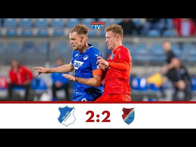 TSG Hoffenheim U23 - TSV Steinbach Haiger 2:2 (Regionalliga Südwest 2019/20 I #TSGTSV )