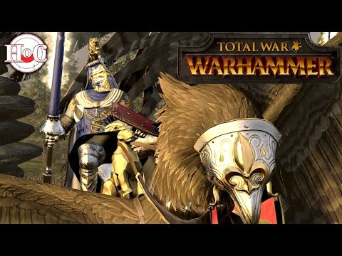 Empire vs Bretonnia - Total War Warhammer...