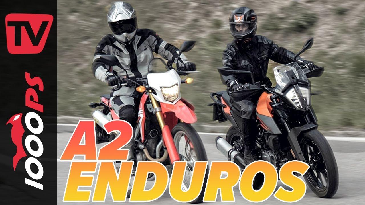 Honda CRF250L vs. KTM 390 Adventure - A2 Enduros im Vergleich
