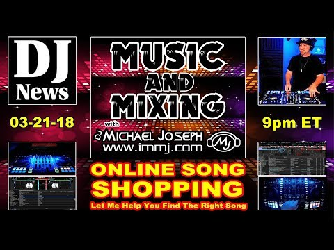 Online Song Shopping | Finding The Right DJ Track | Music & Mixing with DJ  Michael Joseph Episode 10