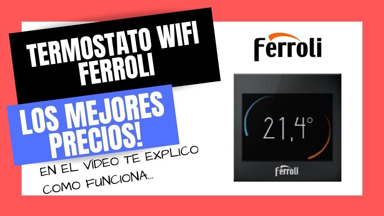 Termostato wifi caldera ferroli bluehelix tech y pro for Termostato caldera wifi