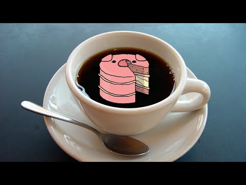 Coffee And PigCake