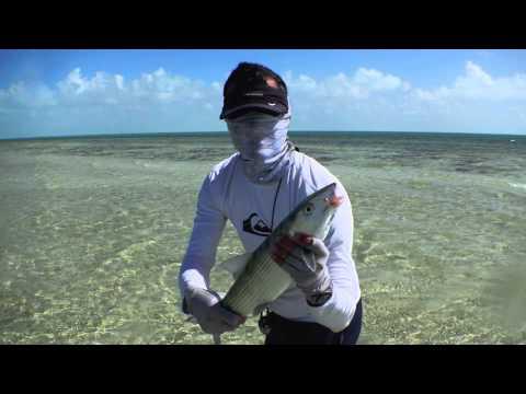 Fly Fishing For Bonefish Turks & Caicos