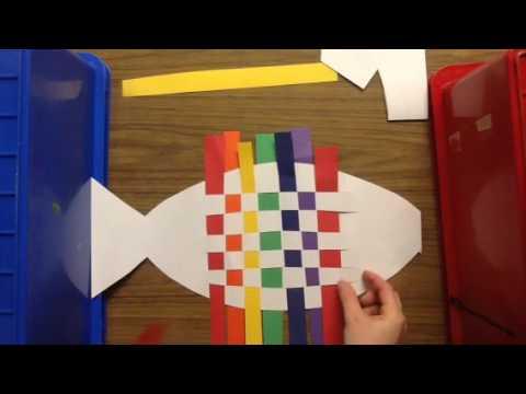 Rainbow Fish Weaving Youtube