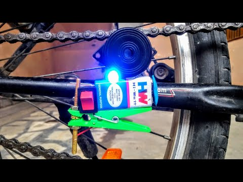 How To Make Security Alarm For Cycle At Home