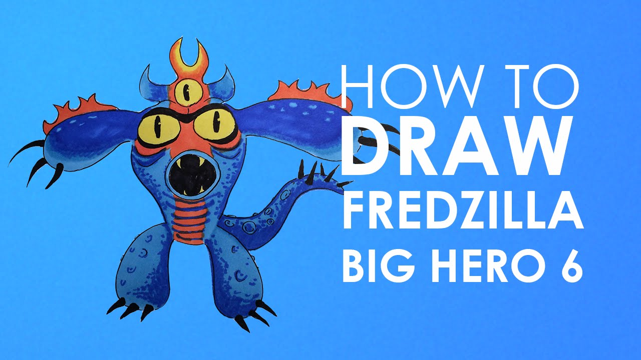 How To Draw Fredzilla