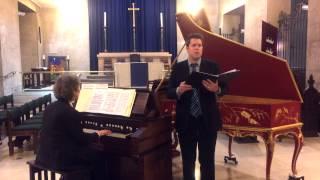 Max Reger: Meine Seele ist still zu Gott Reger baritone and harmonium
