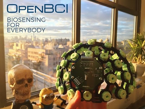 OpenBCI: Biosensing for Everybody