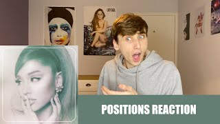 REACTING TO POSITIONS (ALBUM) BY ARIANA GRANDE