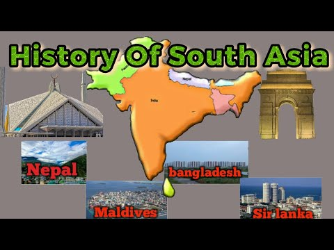 The History Of South Asia