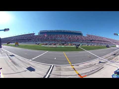 360 Video Daytona 500 Green Flag