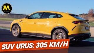 Lamborghini Urus : le super SUV à 300 Km/h