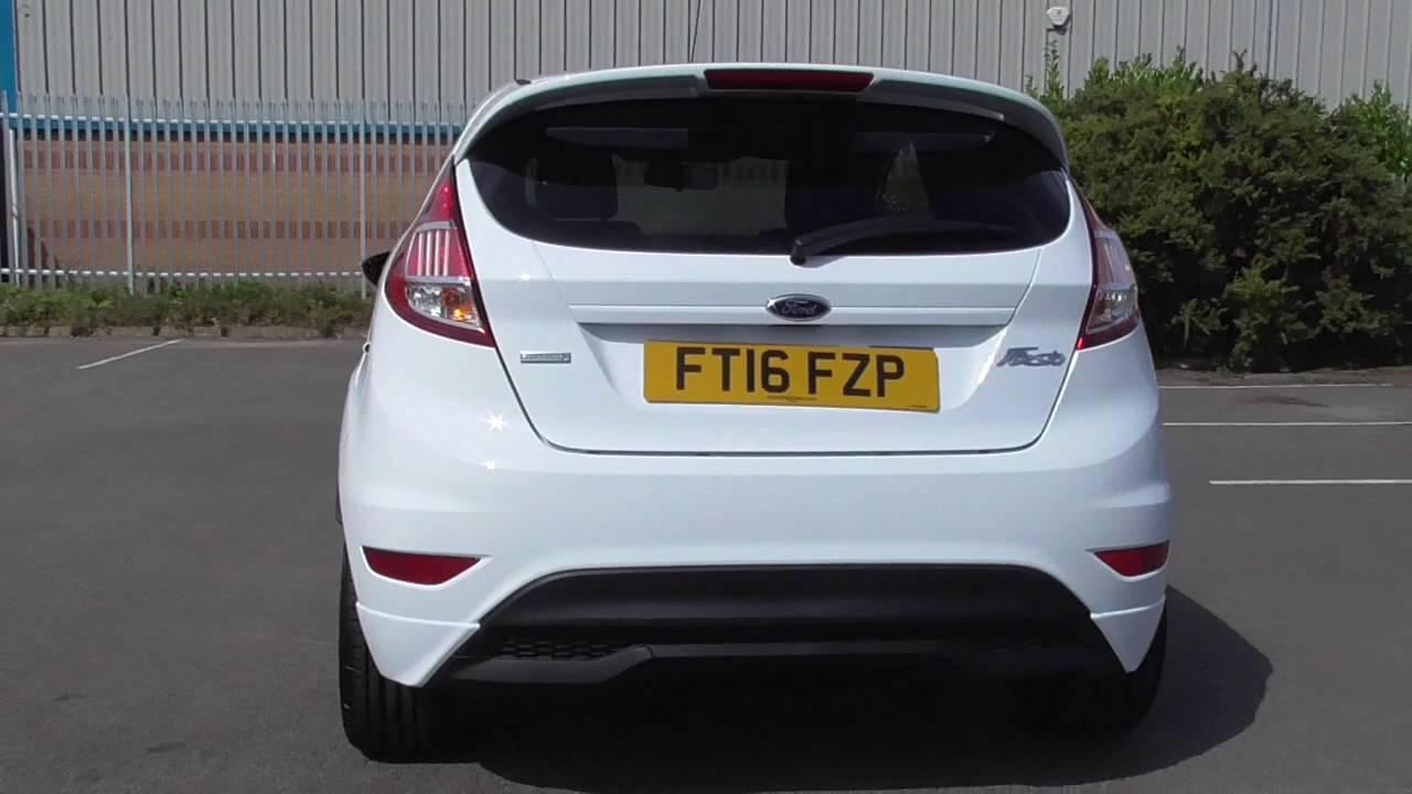 Fiesta St Line 140 >> Ford Fiesta 1 0 Ecoboost 140 St Line Navigation 5dr U110586 Youtube