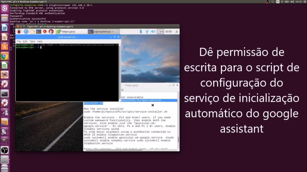 PT-BR] Google Assistant + Raspberry Pi: Comandos de voz para