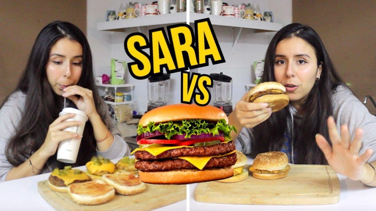 SARA vs HAMBURGESAS