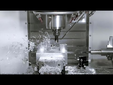 Haas VMC: Chip Clearing and Tool Lubrication