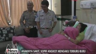 Anak sakit, sopir angkot tabrak polisi - iNews Petang 18/03