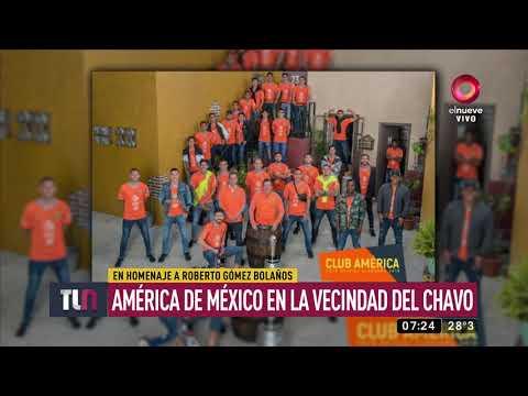 América de México estuvo en la Vecindad del Chavo